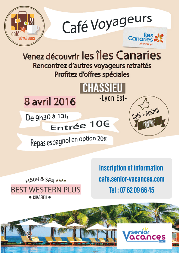 Café Voyageurs Canaries Lyon Chassieu